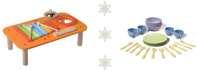 """""""percussion table green toys dishes"""""""