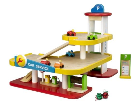 """""""wooden garage toy"""""""