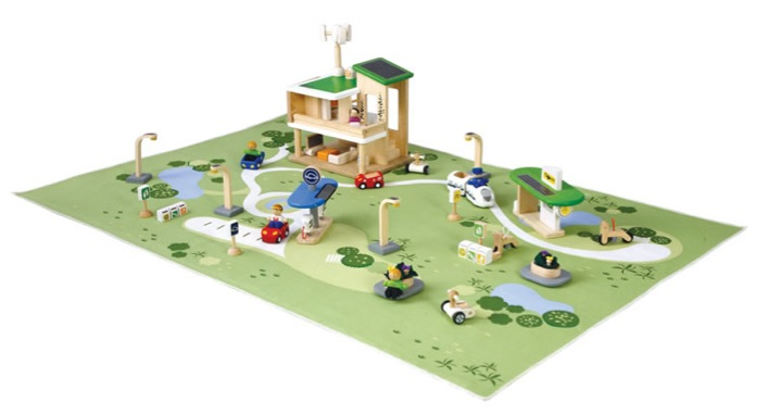 """""""Plan toys eco town and playmat"""""""