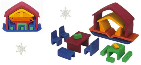 """Mini wooden dolls house"""