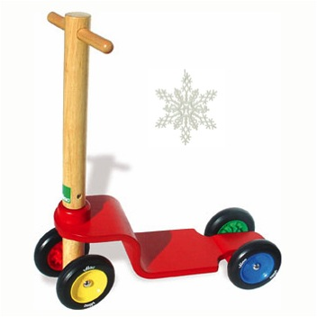 """""""wooden scooter for kids"""""""