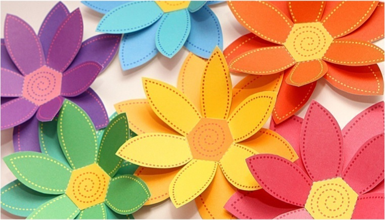 """paper flowers"""