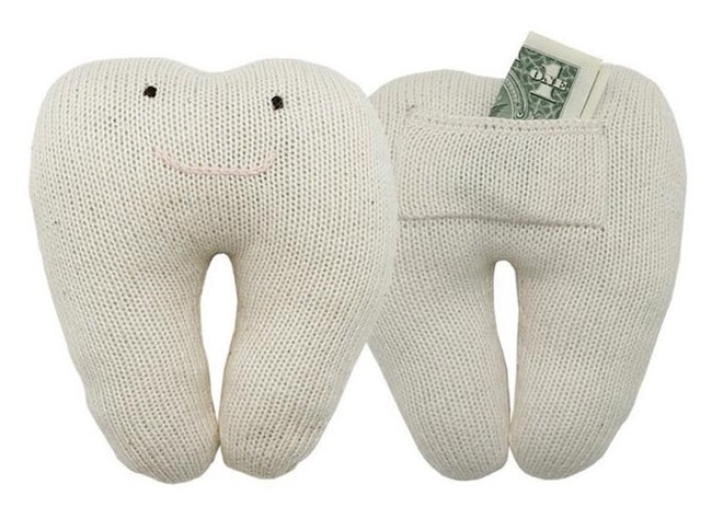 """""""Oeuf NYC tooth fairy pillow"""""""