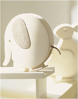 """""""wooden elephant toy"""""""