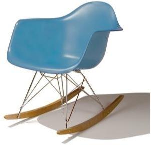 """eames inspired eiffel rocking chair"""