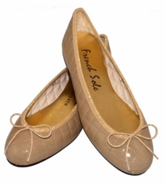 """""""French sole ballet pumps"""""""