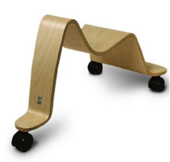 """wooden scooter ride-on toy"""