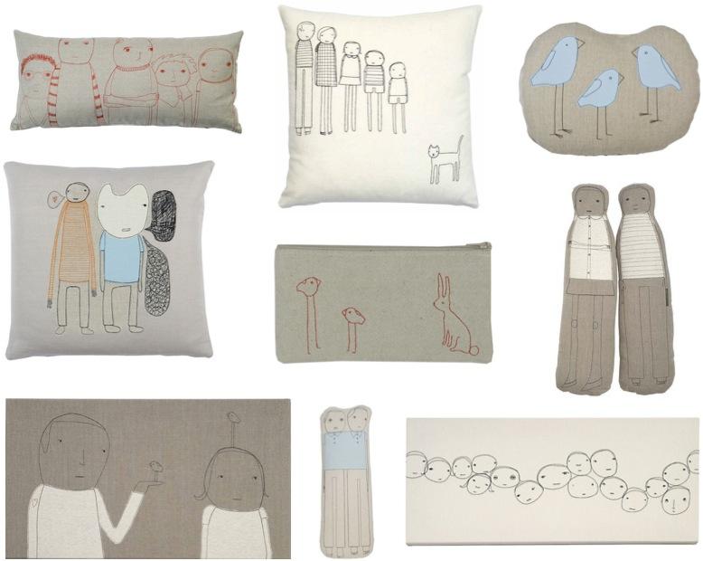 """K Studio pillows, wall art for kids"""
