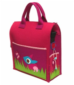 """whoost diaper changing bag"""