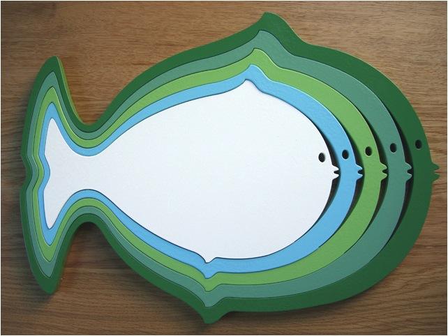 """fish wall decor"""