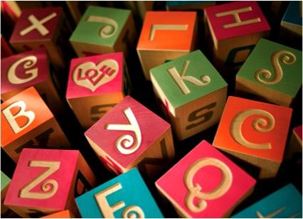 """wooden ABC Blocks"""