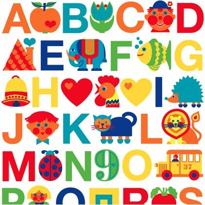 """alphabet poster"""
