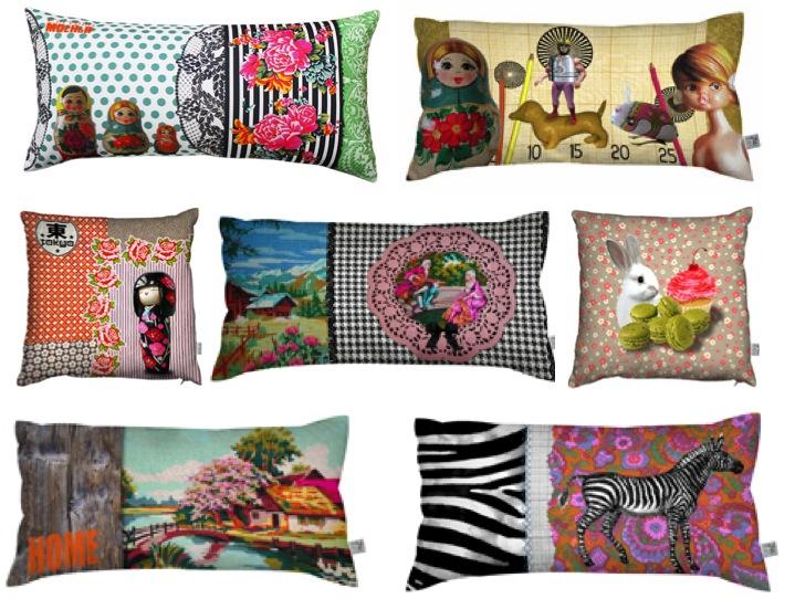 """""""Lucy Laissez Faire Cushions"""""""