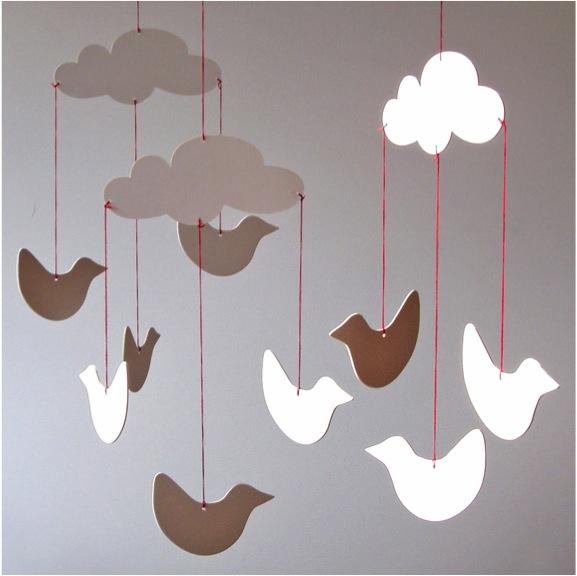 """Paper bird mobile"""