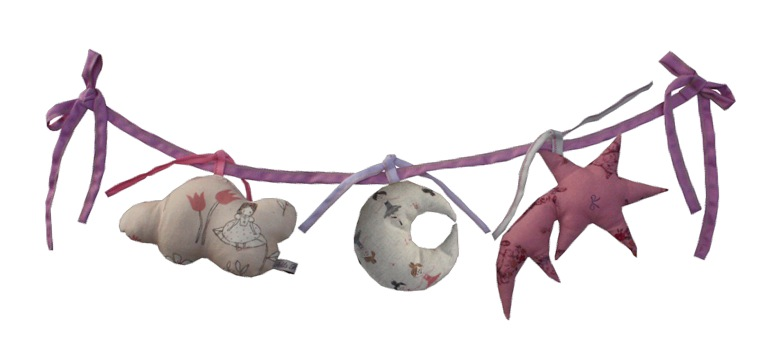 """stars garland for baby nursery"""