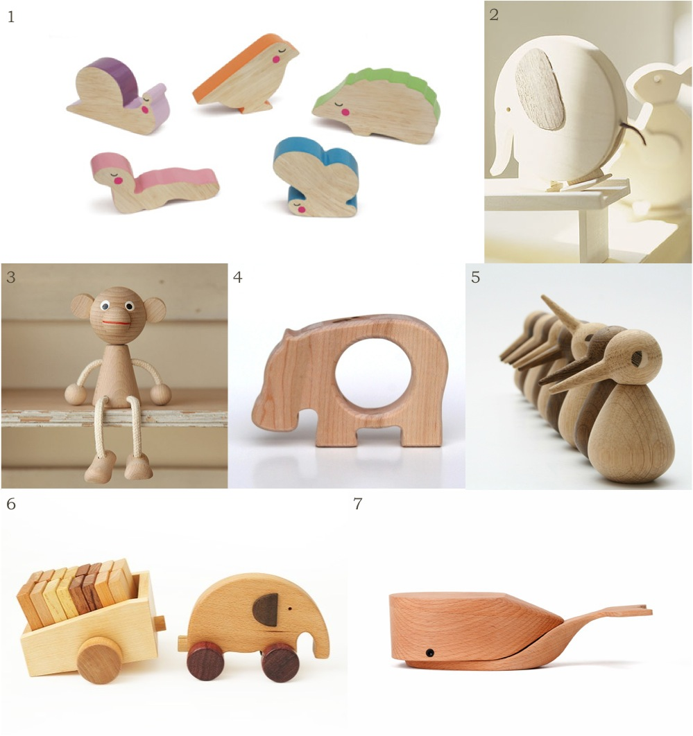 """wooden animal toys"""