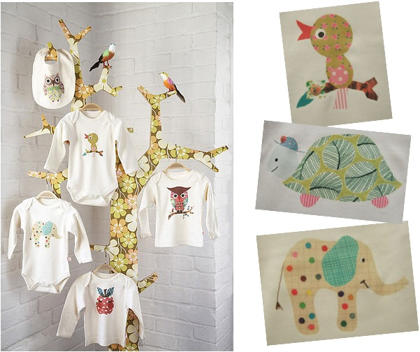 """retro baby clothes by Petra Boase"""