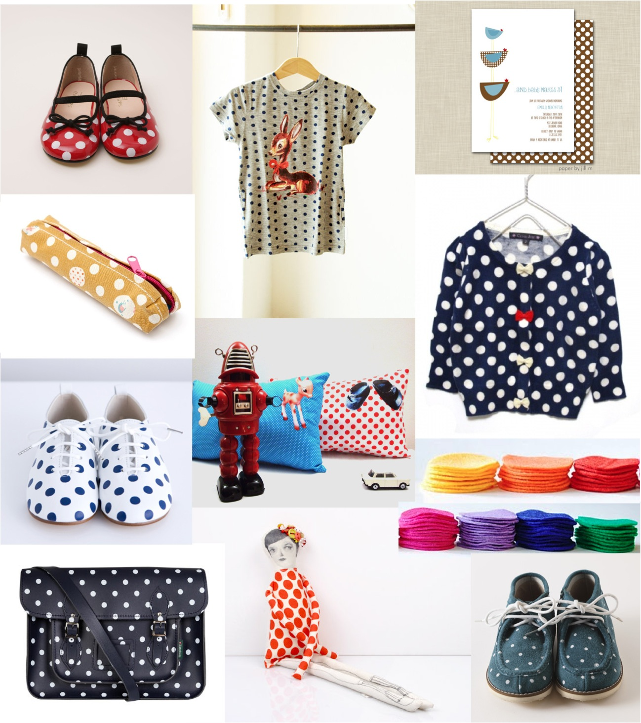 """polka dots for kids"""