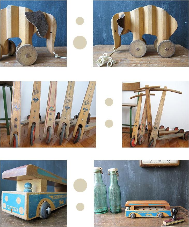 """vintage wooden toys"""