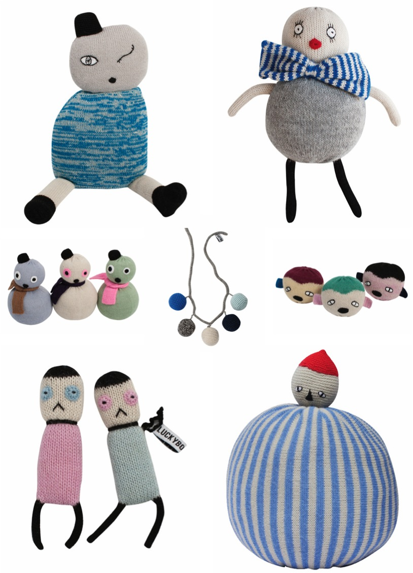 """quirky and cool soft toys by lucky boy sunday"""