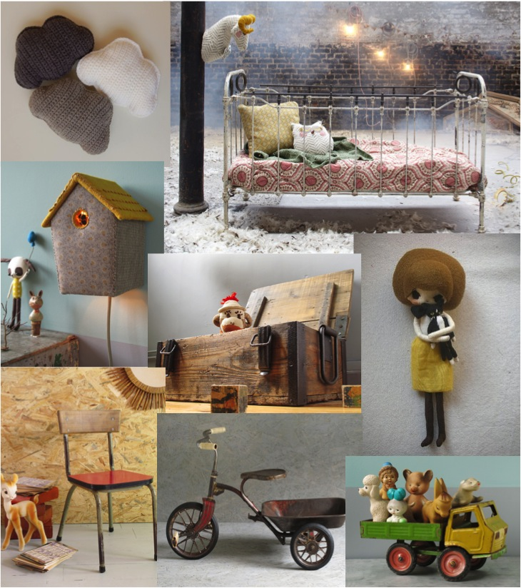 """""""vintage kids furniture and toys from France"""""""