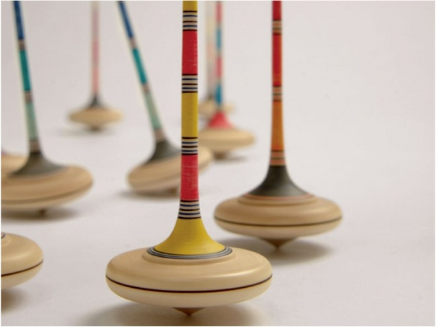 """""""wooden spinning top toy"""""""