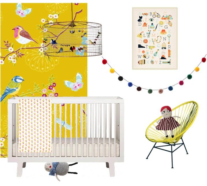 """""""yellow nursery ideas"""""""