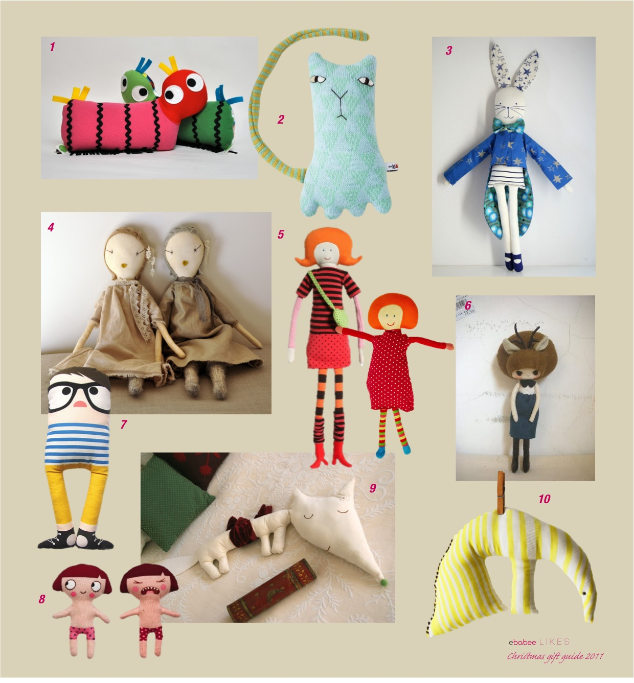 """""""christmas gift ideas for kids dolls and soft toys"""""""