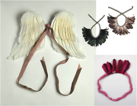 """""""feather fairy wings for girls"""""""