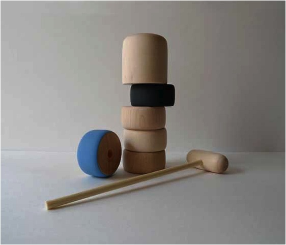 """wooden stacking toy for kids"""