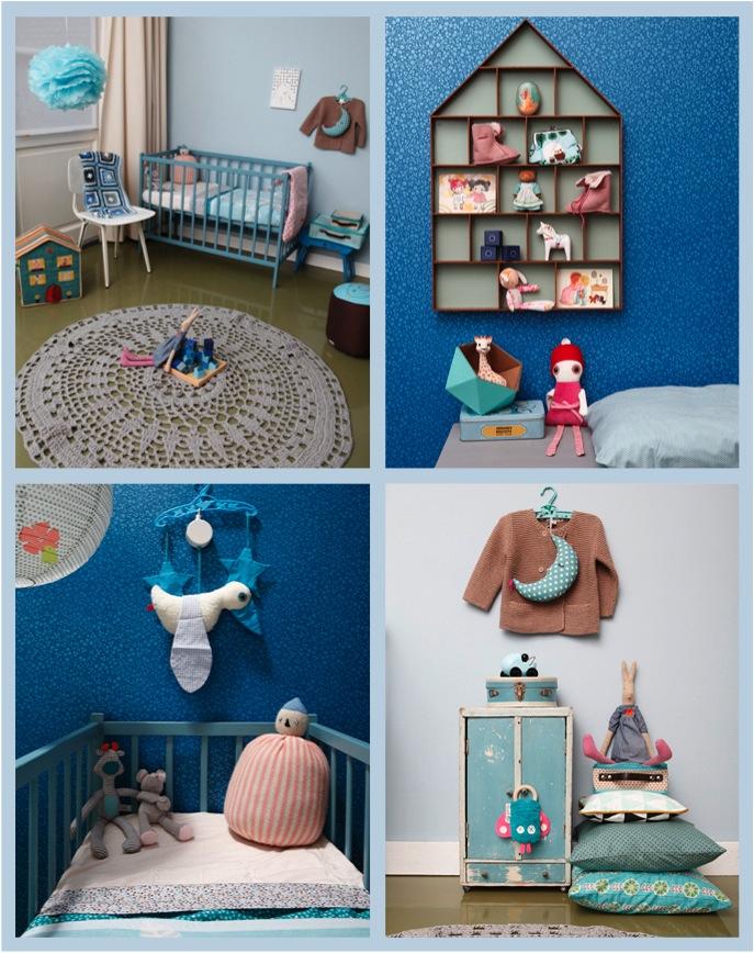 """""""blue nursery decor ideas for a girl"""""""