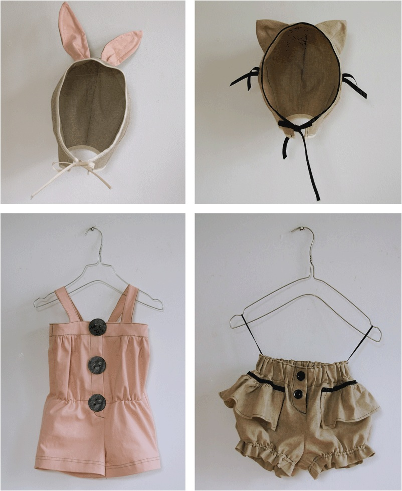 """kids cat suit and rabbit suit"""