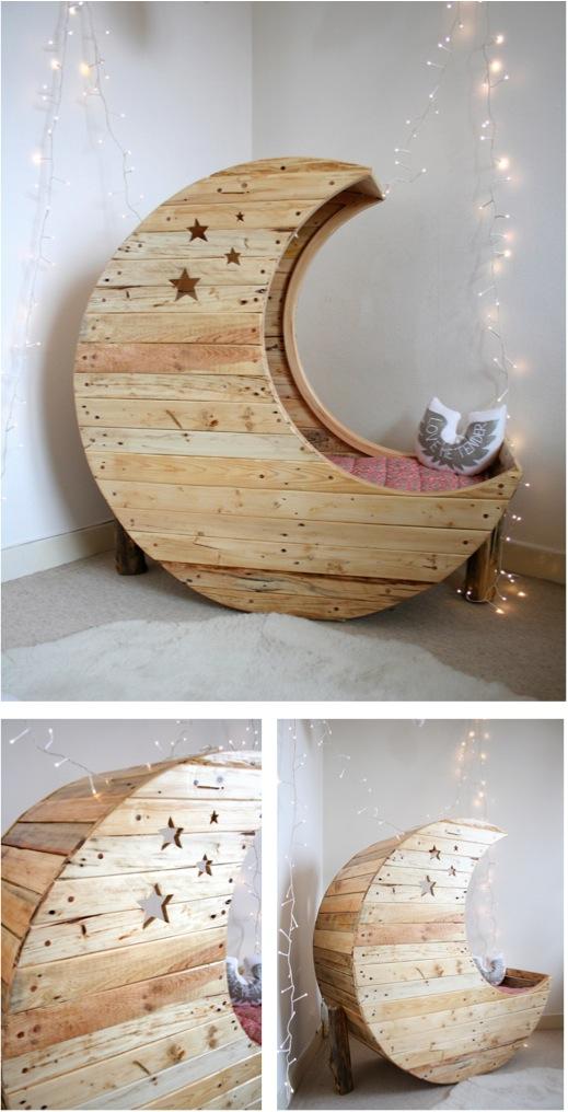 """""""moon shaped crib"""""""
