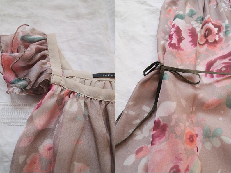 """floral print girls dress"""