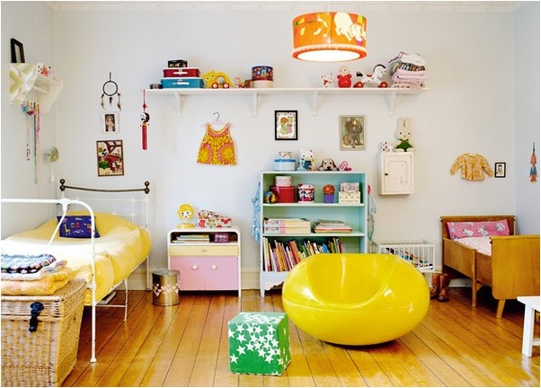 """""""vintage kids room"""""""