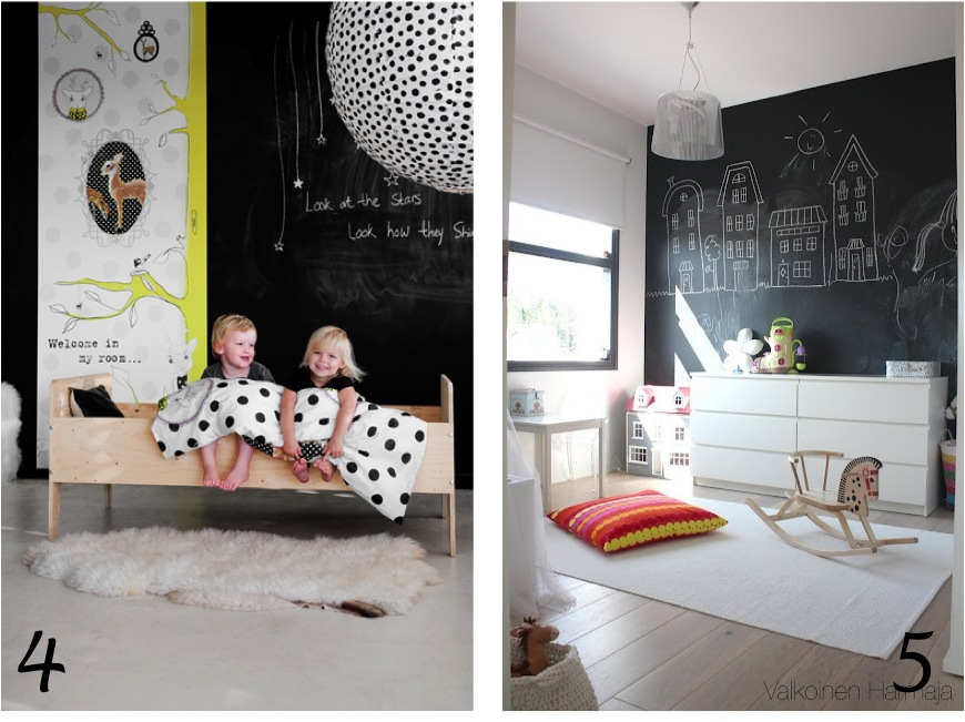 """""""black and white kids room ideas"""""""