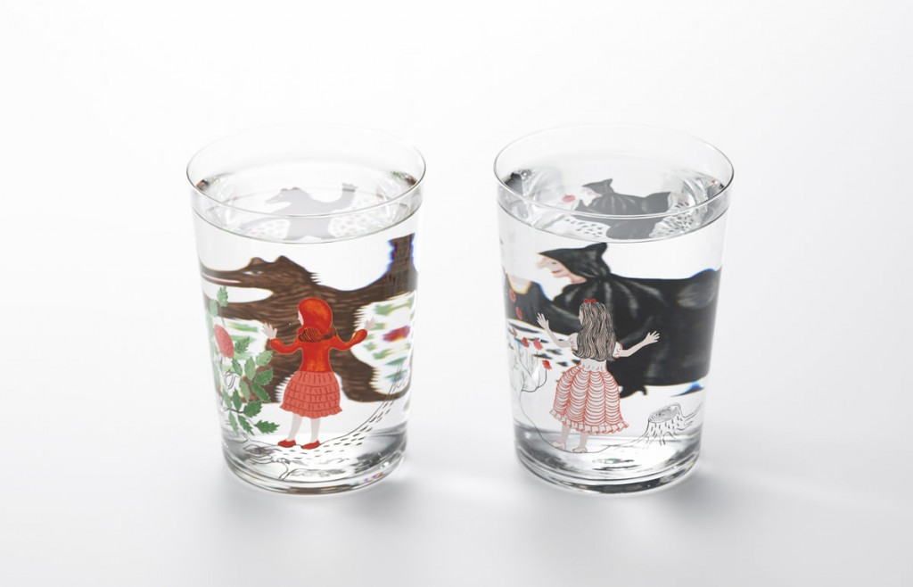 """fairytale drinking glasses for kids"""