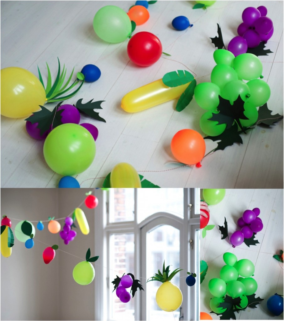 """""""how to make fruit balloons"""""""