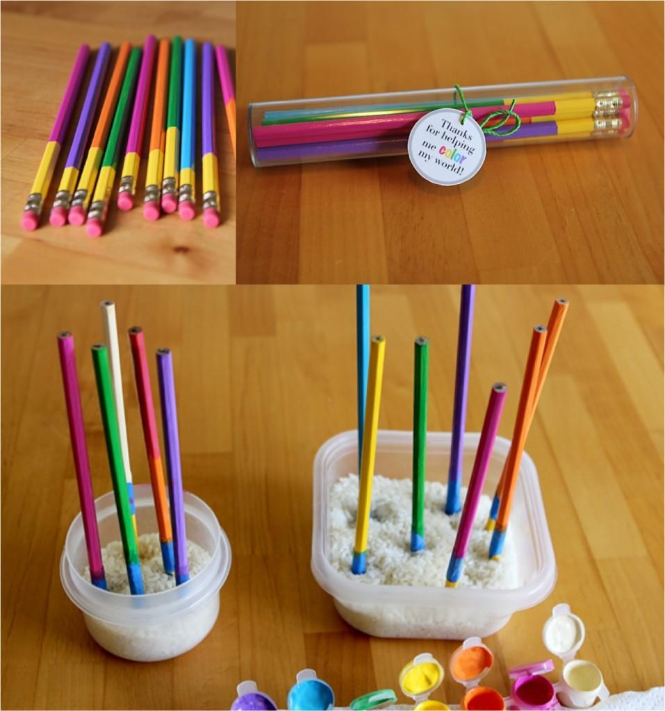 """dip dyed pencils"""