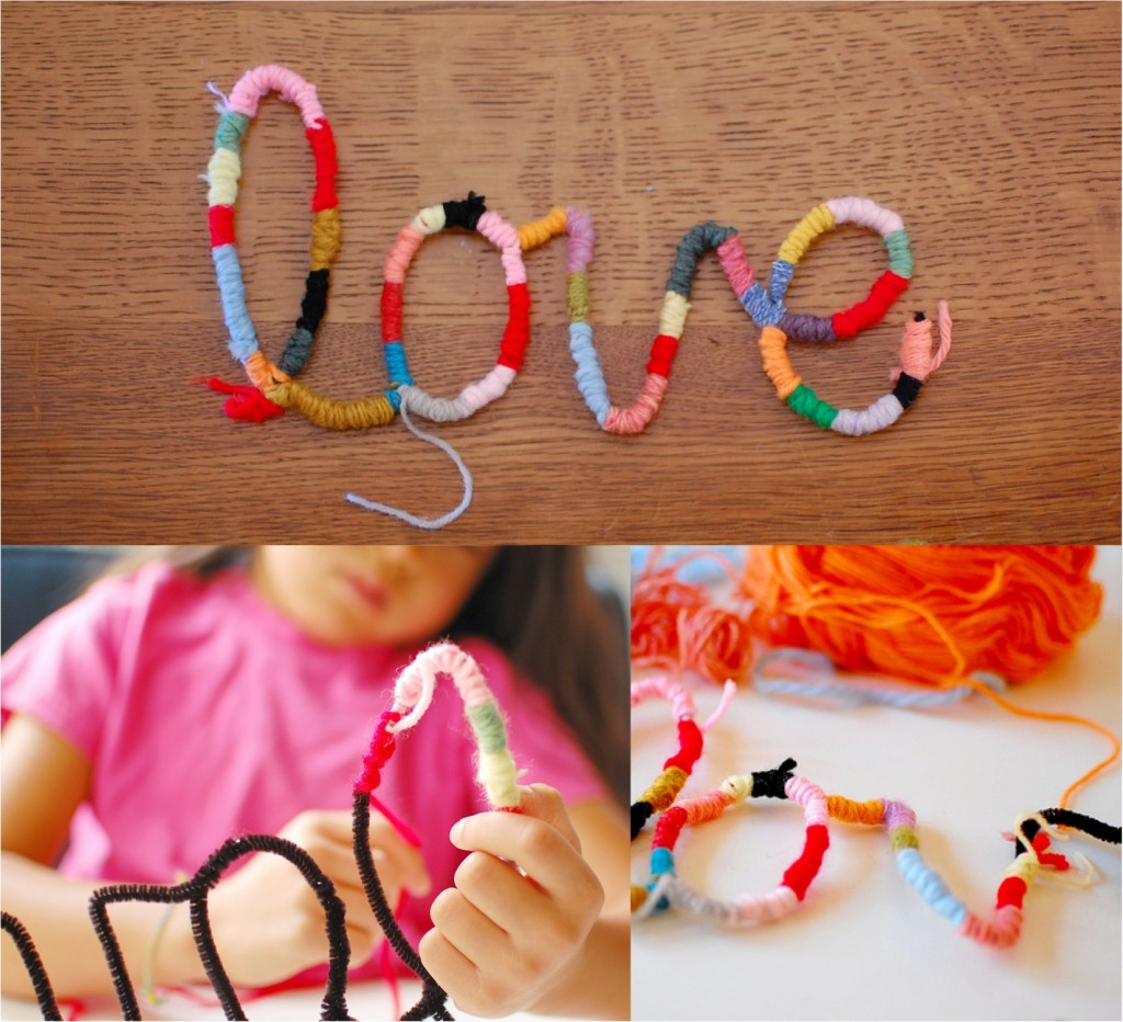 """""""easy craft project for kids"""""""