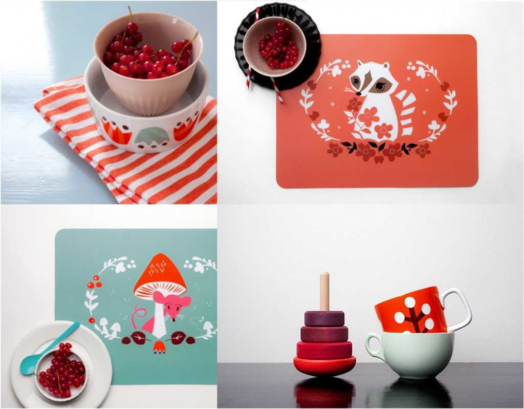 """colourful placemats for kids'"
