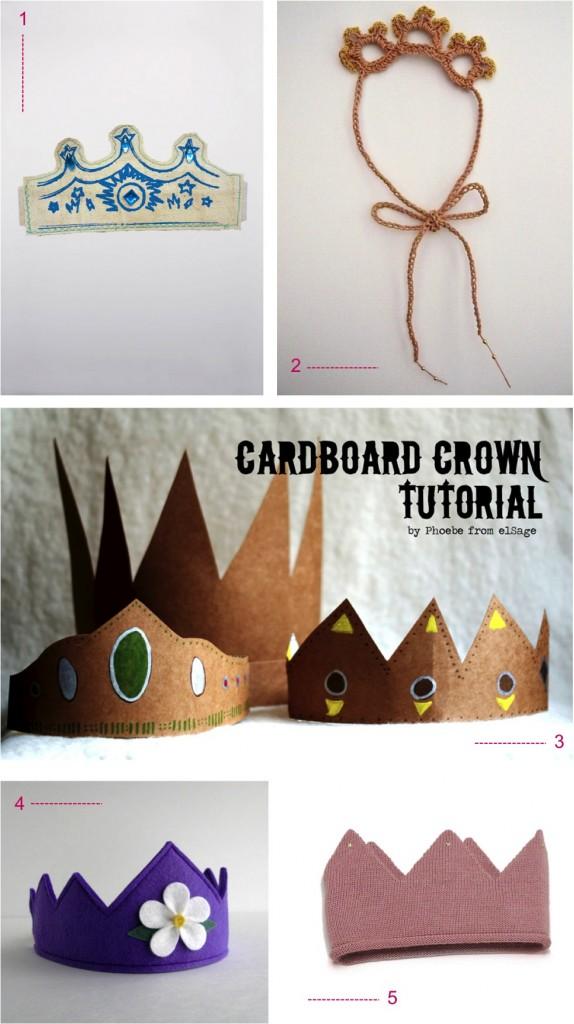 """kids dress up crowns"""