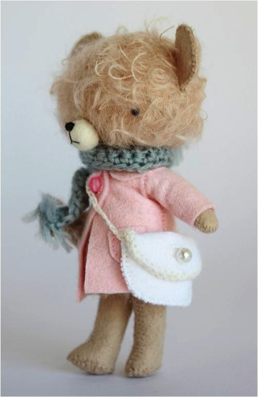"""""""hand made teddy bear"""""""