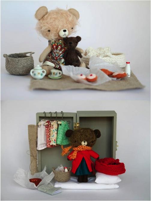 """handmade teddy bears"""