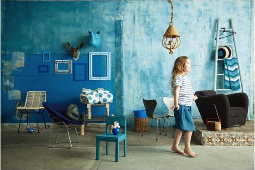 """blue kids room decor"""