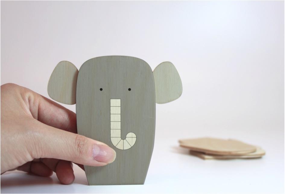 """""""elephant wooden toy"""""""