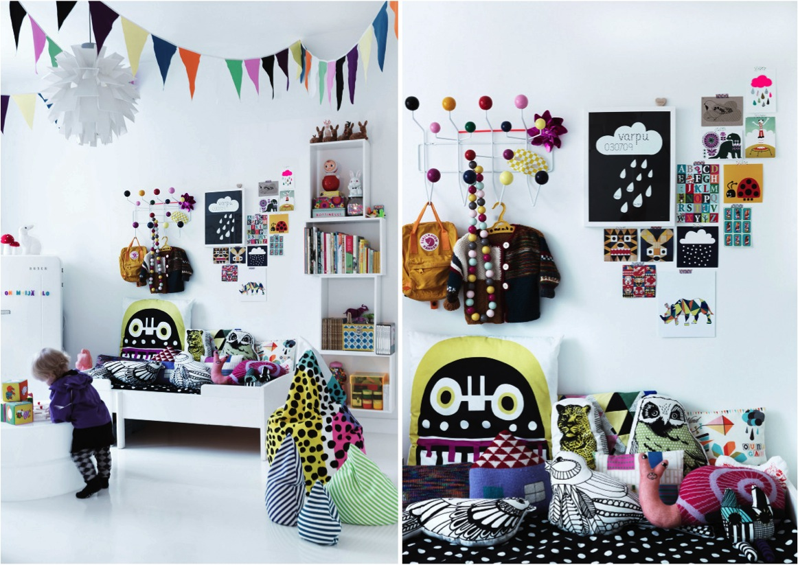 """""""black and white kids rooms"""""""