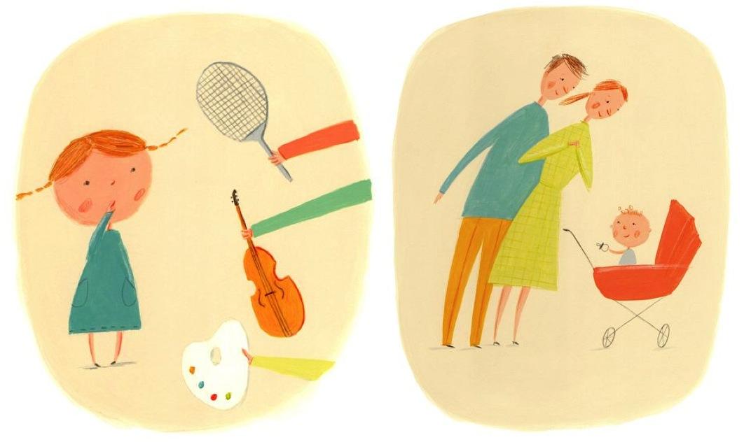 """ekaterina trukhan illustrations"""