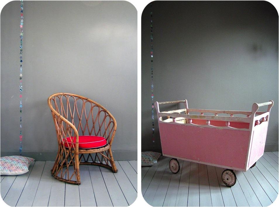 """vintage baby crib"""