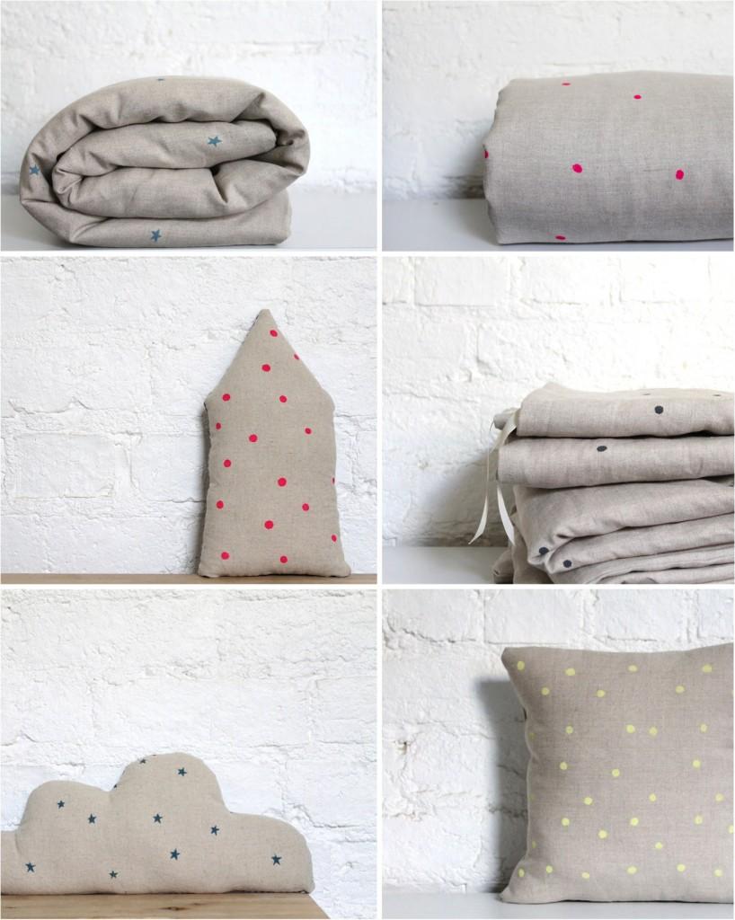 """""""polka dot kids bed linen"""""""